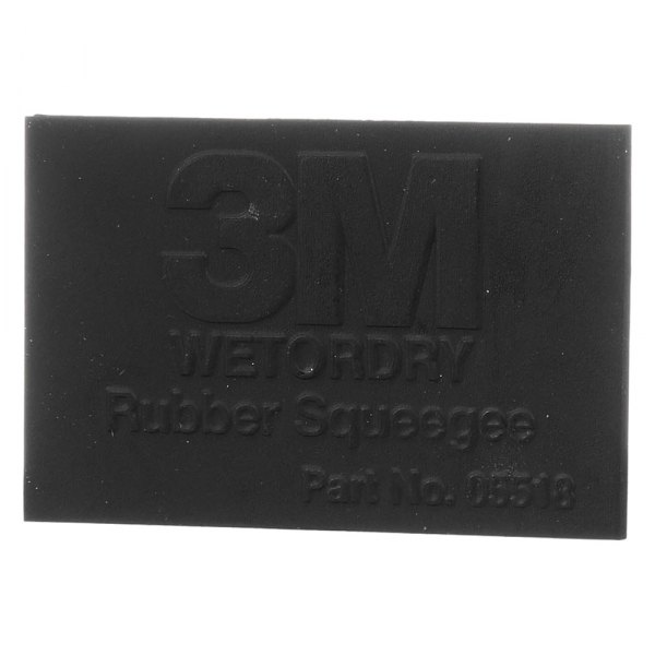 2 x 3 3M Company 5518 Wetordry Rubber Squeegee 05518