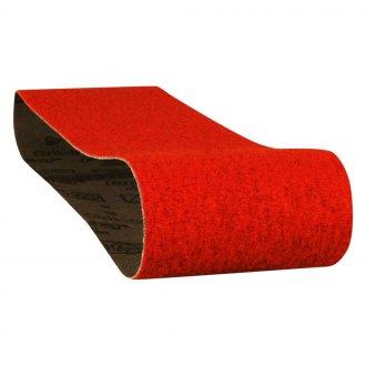 Pack of 10 Cloth Backing VSM 283802 Abrasive Belt 36 Grit Ceramic 1 Width Bright Red 1 Width 132 Length VSM Abrasives Co. 132 Length Coarse Grade