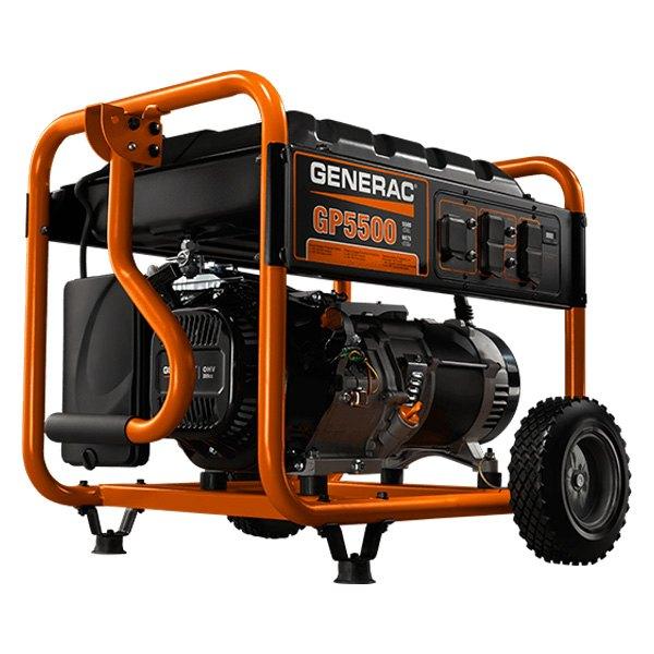 Generac® 5939 - GP 5500 Series™ 5.5kW Gasoline Recoil Start Portable  Generator (EPA Compliant) - TOOLSiD.comTOOLSiD.com