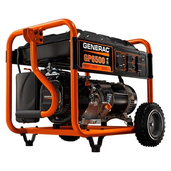 Generac® GP6500 - GP 6500 Series 6500W Manual Start Portable Generator