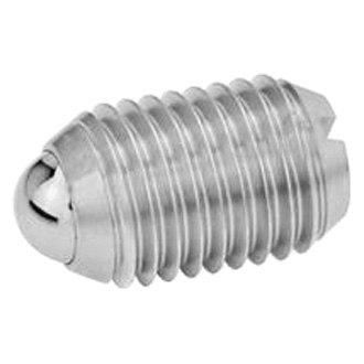 J.W Winco 12N50P48//BN GN606-NI Socket Head Cap Screw with Flat Ball End M12 x 50 mm Thread Length Stainless Steel Ganter