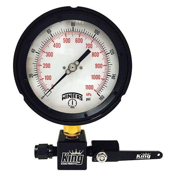 King Racing® 1900 - Superflow™ 0 to 160 psi Fuel Pressure Tester