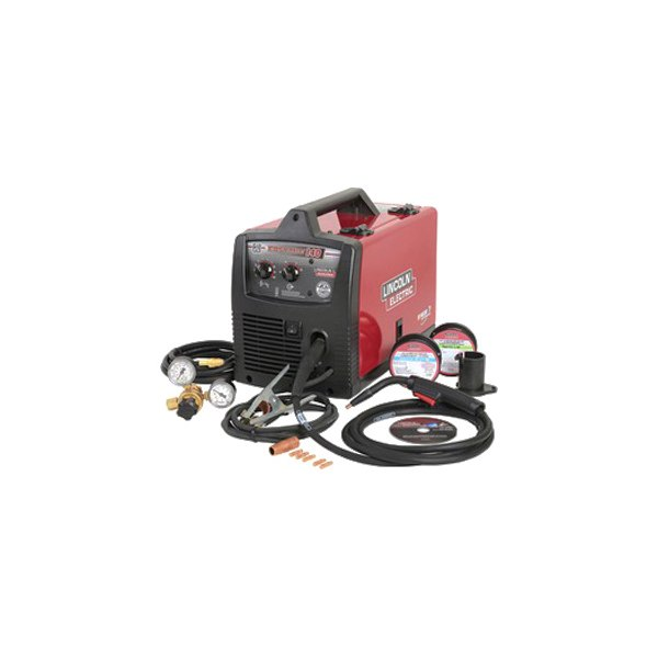 Lincoln Electric K2697 1 Easymig 120v 140a Compact Mig Flux Core Welder Kit With Wire Feeder Toolsid Com