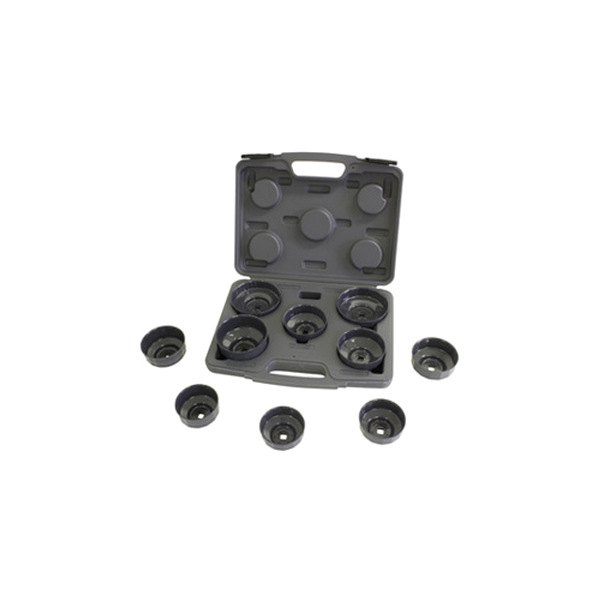 Lisle® 61450 - Heavy Duty Oil Filter Cap Wrench Set