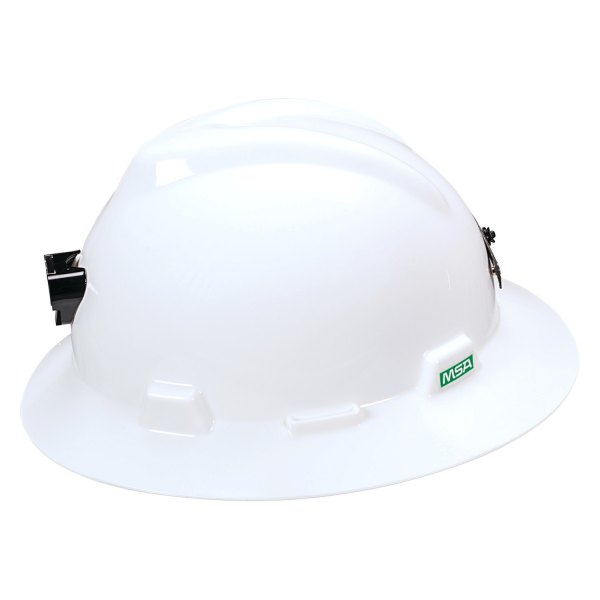 Msa 174 815009 V Gard 6 1 2 Quot To 8 Quot Polyethylene White Full