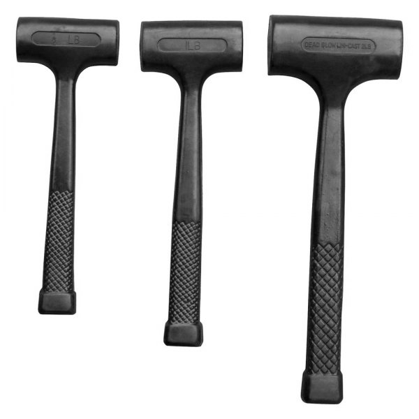 Oem Tools 25517 3 Piece Dead Blow Hammer Set Toolsid Com This type of hammer also saves a lot of time and effort, when compared to a regular mallet (soft hammer). oem tools 25517 3 piece dead blow hammer set