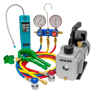A/C Vacuum Pumps & Accessories   Fittings, Wrenches - TOOLSiD com