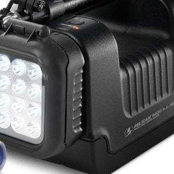 PELICAN Hands Free Light,Industrial,LED,Black 2680-G