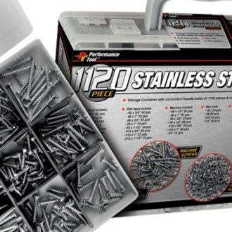 Dorman 799-510D Pro Pack Sheet Metal Screws Stainless Steel 79 Pieces