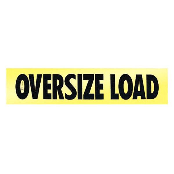 Wide Load Sign >> Safetruck Awr204 Oversize Load Wood Sign