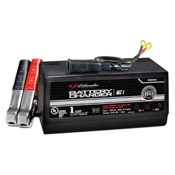 Schumacher Battery Charger Manual >> Schumacher Mc 1 12v Portable Manual Battery Charger And Maintainer