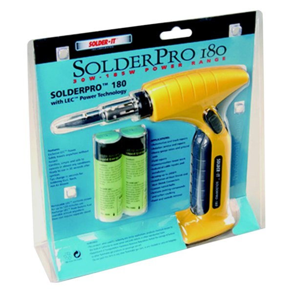 Solder-It® - 30W to 185W Multi-Function Butane Heat Tool SolderPro  Automatic Ignition Tips Removable LEC