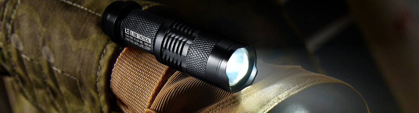 Magnetic Outdoor LED Lamp Flashlight Clip-on IPX6 Waterproof Hands Free Lights