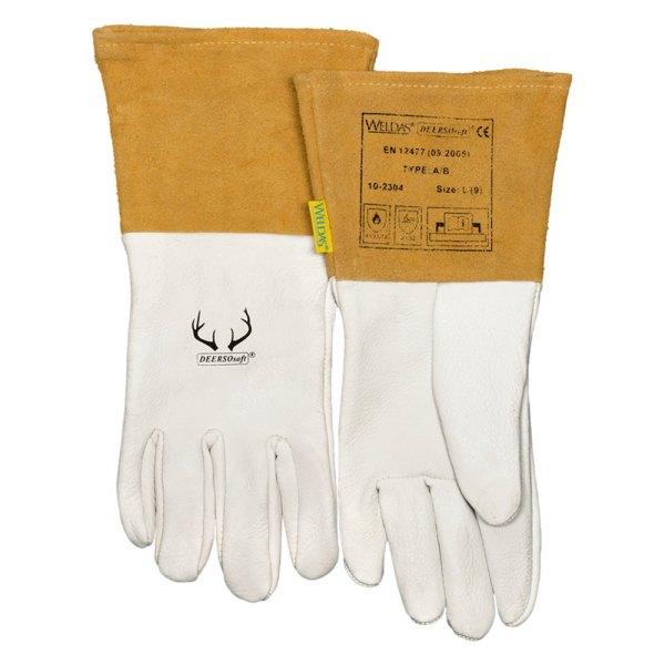 Welding MIG//TIG Gloves Weldas Pearl Grain Deerskin